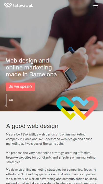 La Teva Web, web design agency