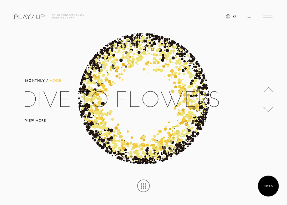 PLAY/UP Brand Site - Awwwards Nominee