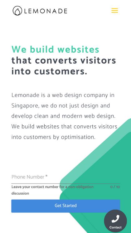 Lemonade - Mobile Report