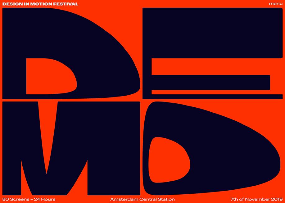 Design in Motion Festival - Awwwards SOTD