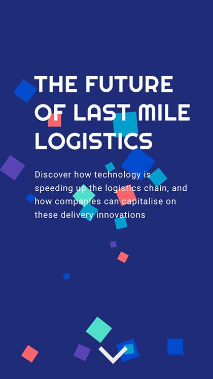 Future of Last Mile Logistics - Mobile Report