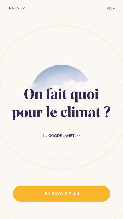 On fait quoi pour le climat ?