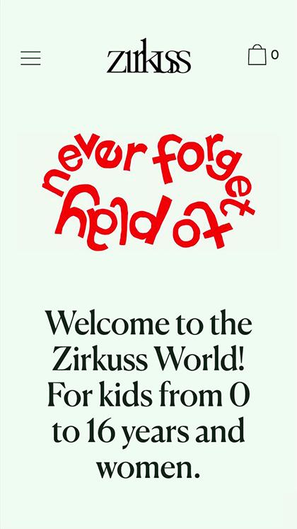 Zirkuss - Love Kids Love