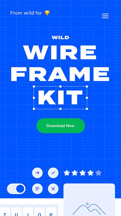 wild wireframe kit