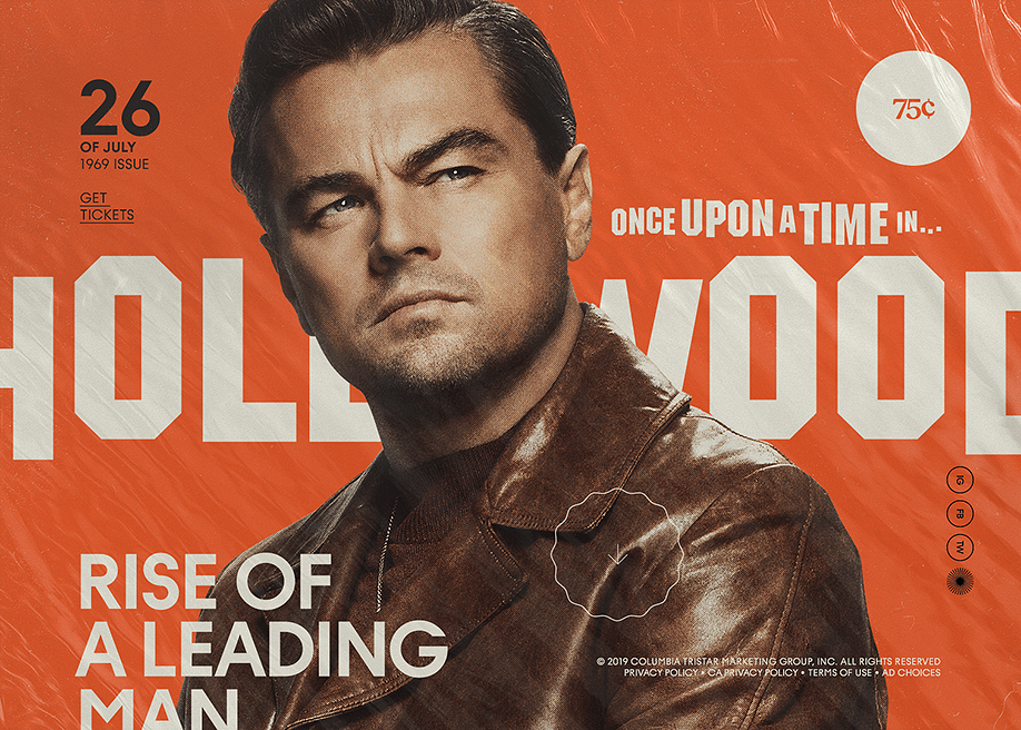 Once Upon A Time In Hollywood Awwwards Sotd