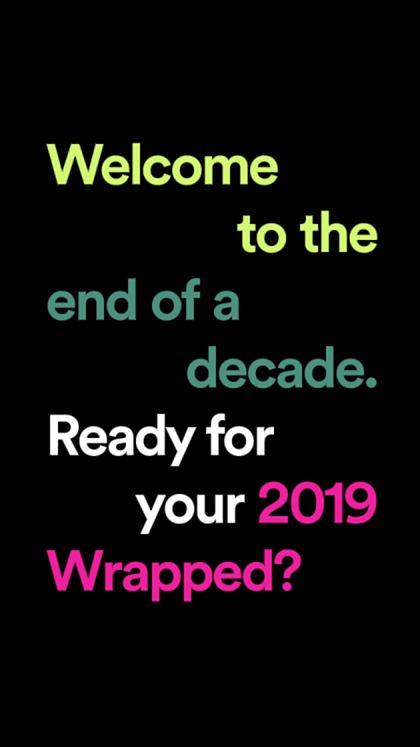 2019 Wrapped