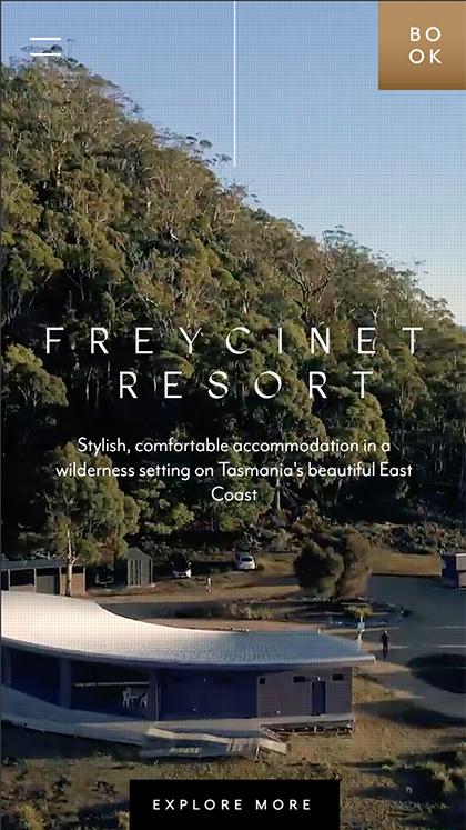 Freycinet Resort Website