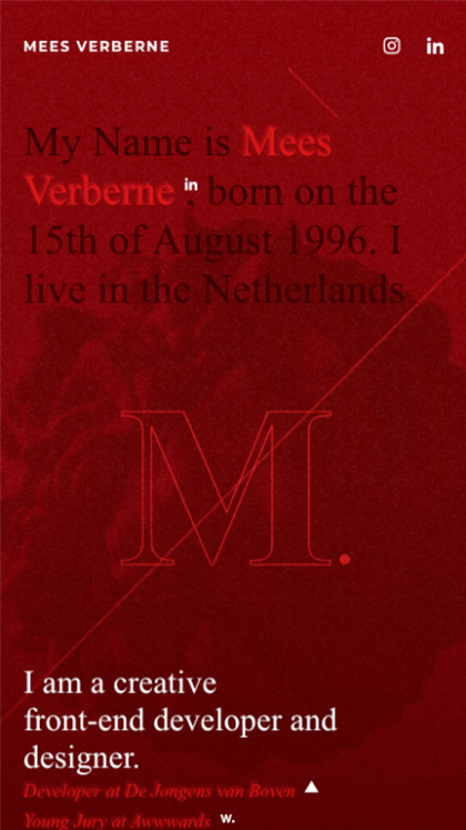 Mees Verberne - Creative