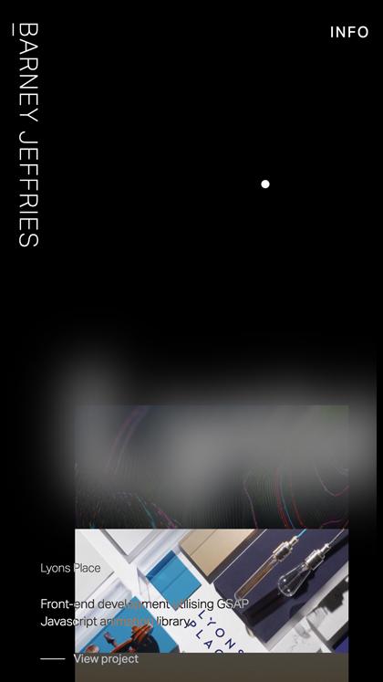 Barney Jeffries - Portfolio