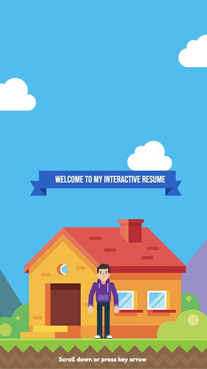Interactive resume S Casalino