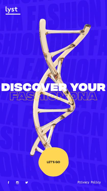 Lyst Fashion DNA