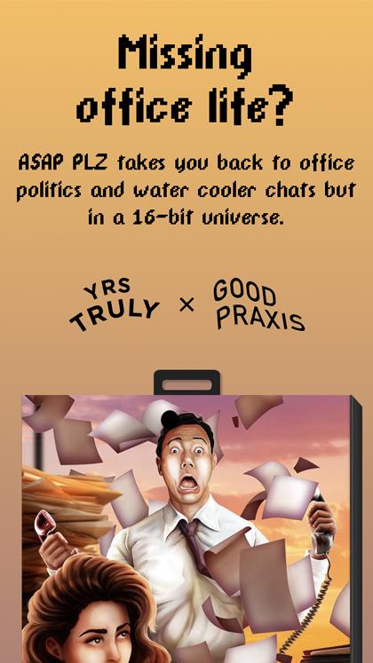 ASAP PLZ - retro office game