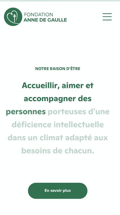 Fondation Anne de Gaulle