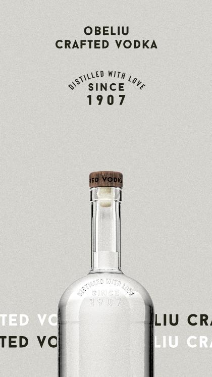 Obeliu Craft Vodka