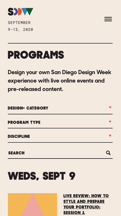 San Diego Design Week