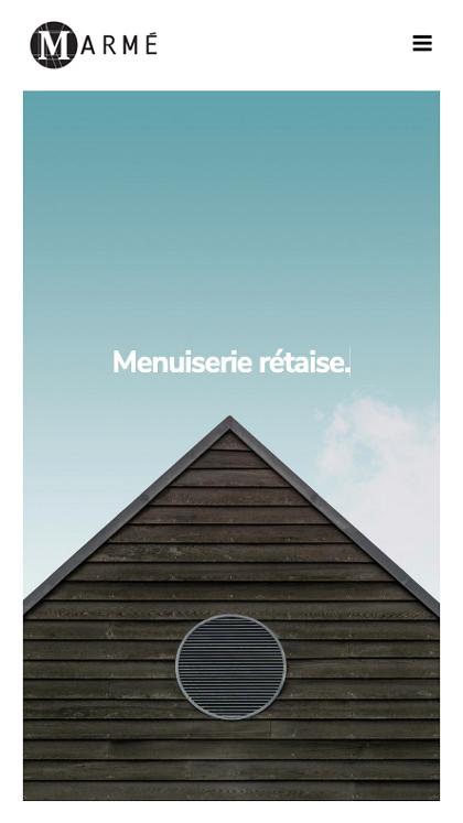 Marmé - Menuiserie Rétaise