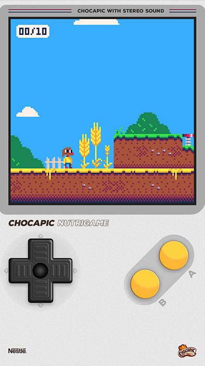 Chocapic Nutri-Game