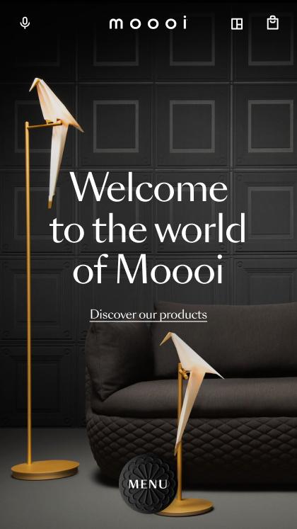 Moooi - Digital flagship store