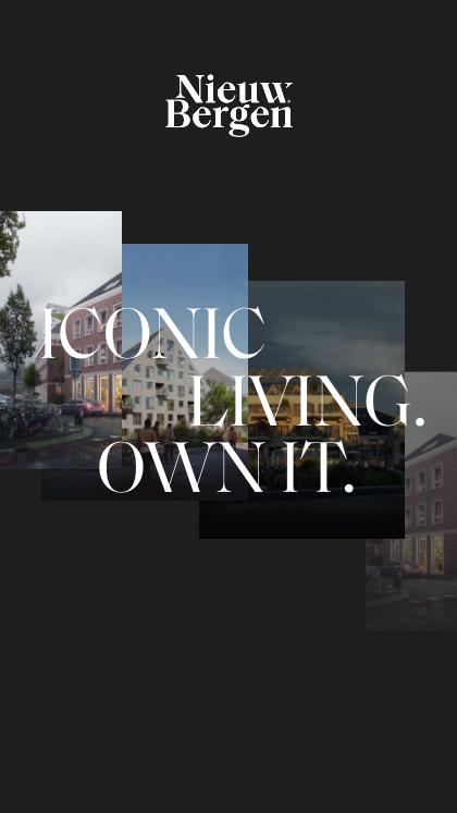 Nieuw Bergen, Iconic Living.