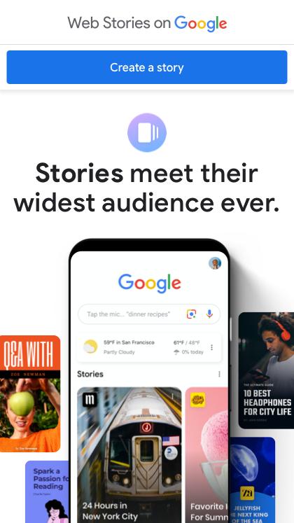 Stories on Google