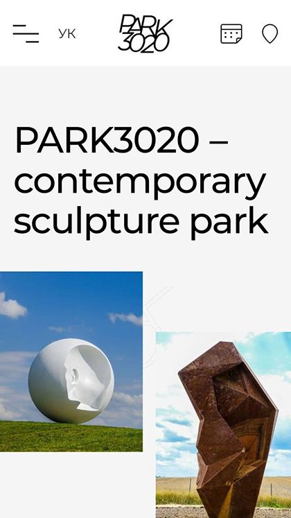 Sculpture park «Park 3020»