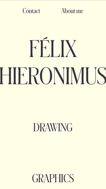 Félix Hieronimus Portfolio