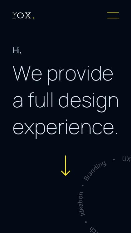 ROX experience design agency