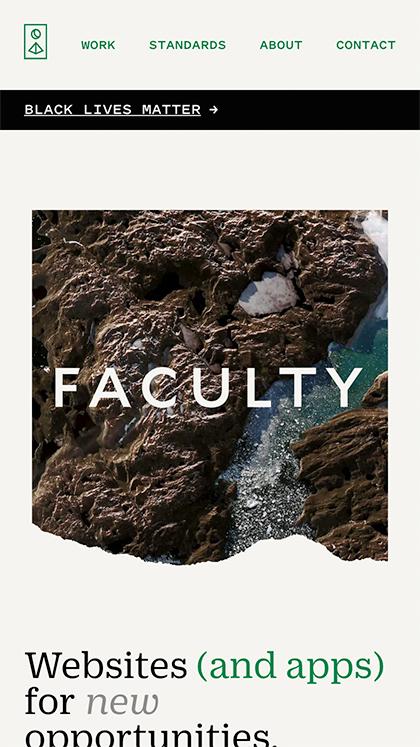 Faculty 2020