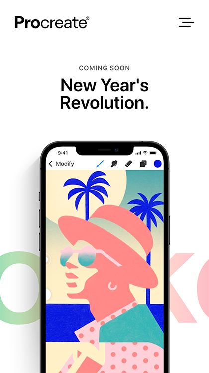 Procreate Pocket – Coming Soon