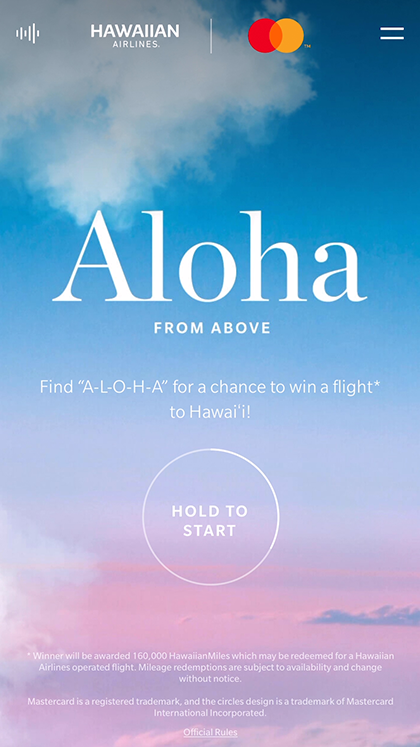 Aloha From Above