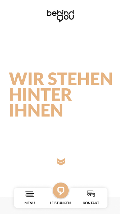 Agency website behind you GmbH
