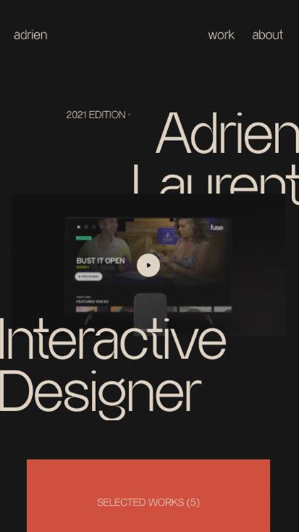 Adrien Laurent - Portfolio
