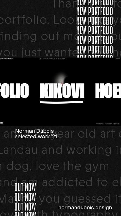 Norman Dubois – Portfolio