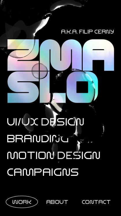 Zmaslo - Designer Portfolio