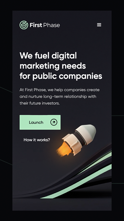 FirstPhase - Marketing Agency