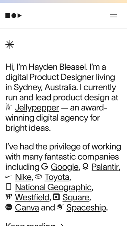 Hayden Bleasel