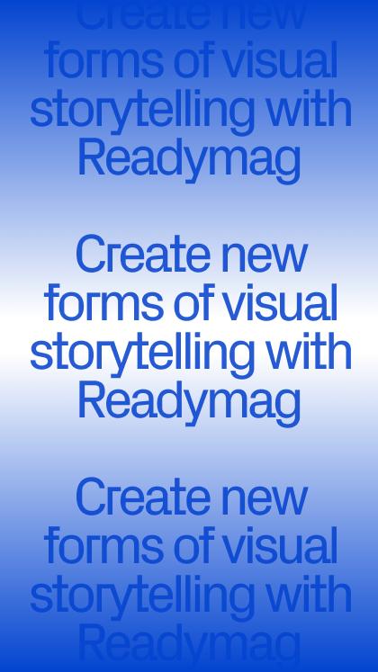 Readymag Editorial