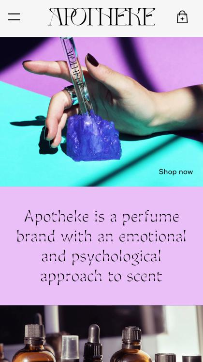 Apotheke Perfume