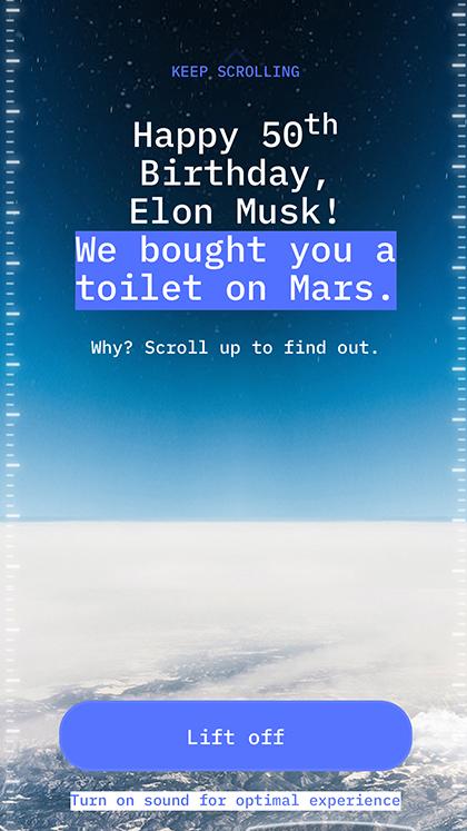 Elon's Toilet