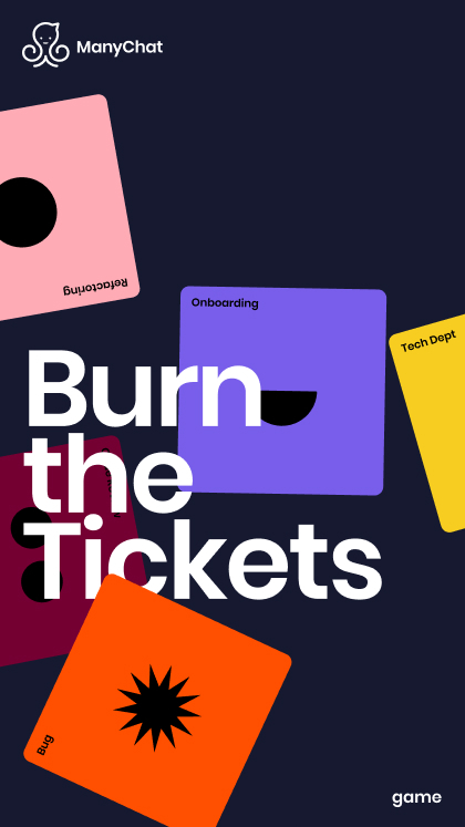 Burn the tickets game