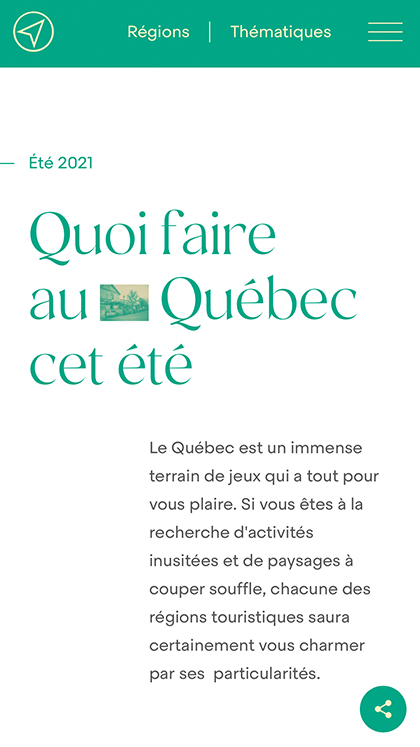 Quoi faire au Québec