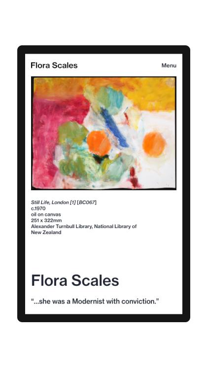 Flora Scales Catalogue