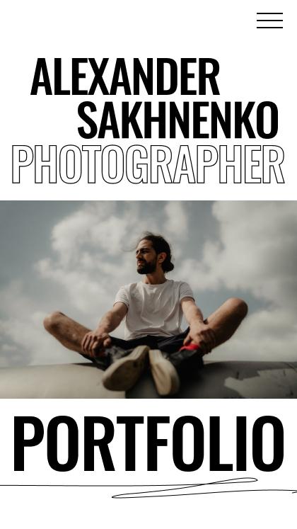 Alex Sakhnenko | photographer