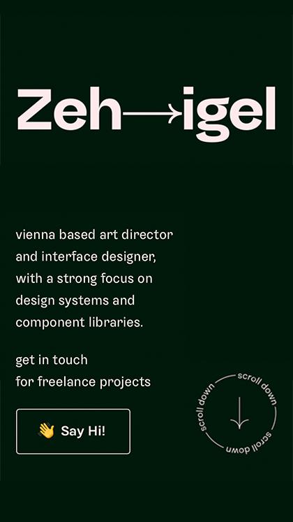 Zehigel → Oliver Schwaiger