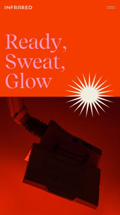 Infrared Promo Website