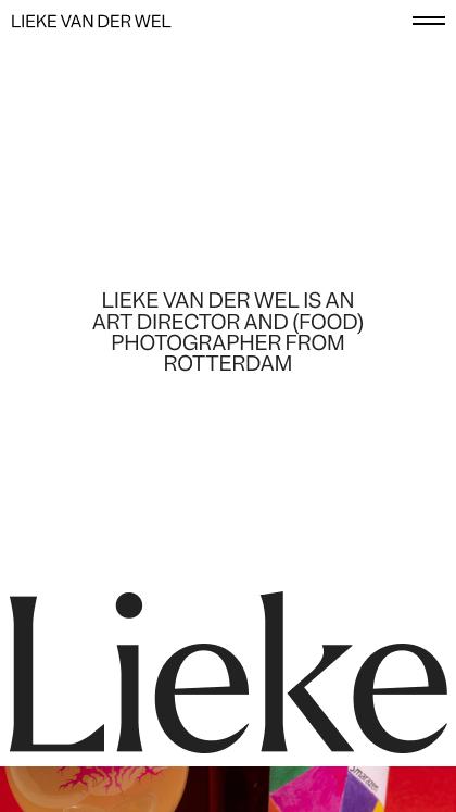 Lieke van der Wel