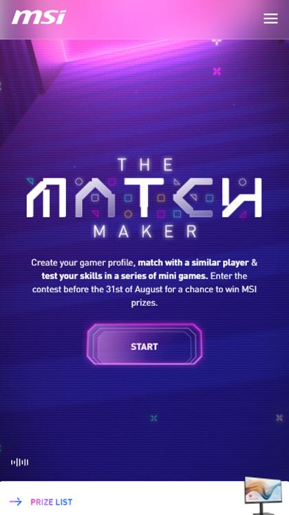 MSI - The Match Maker
