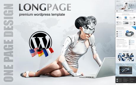Longpage Presentation Theme