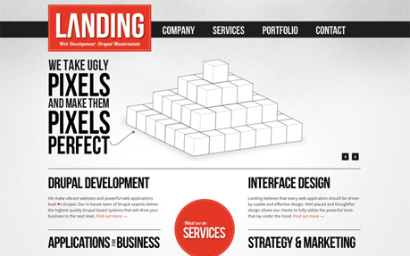 Landing - Web Application Development
