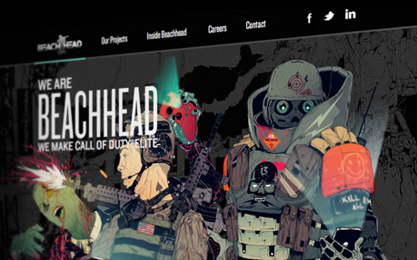 Beachhead Studio Website